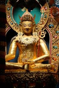 Vakker kunst, her frå eit buddhistisk tempel